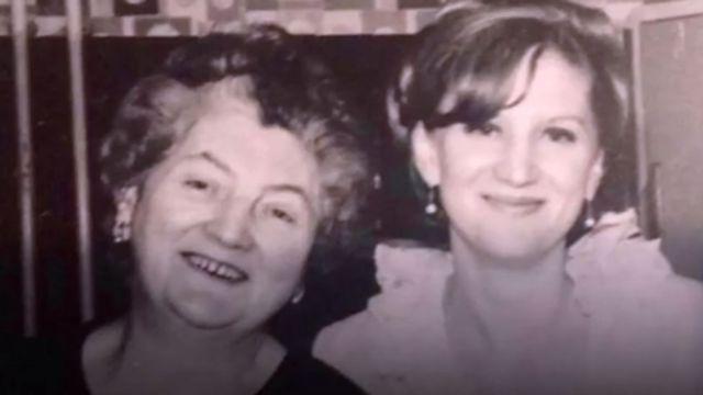 Sue Westhead e sua mãe