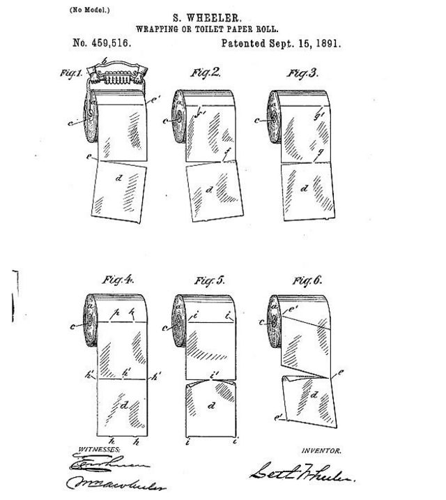 Patente del invento de Wheeler