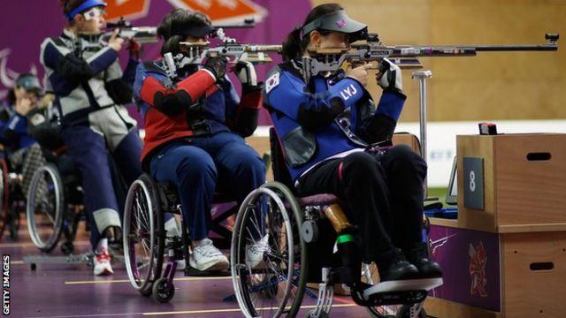 Tiro en los paralímpicos de Londres 2012