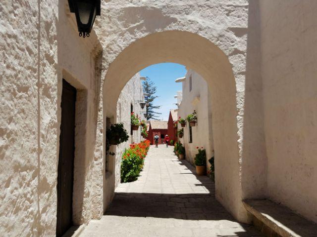 Calles del convento de Santa Catalina. (Foto: Analía Llorente)