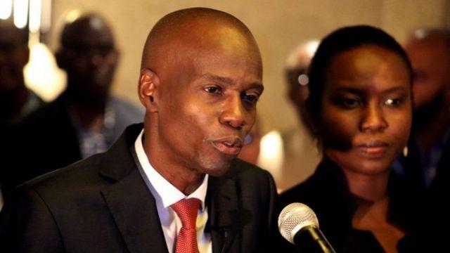 Madaxweynaha Haiti, Jovenel Moïse, oo la toogtay halka xaaskiisana la dhaawacay
