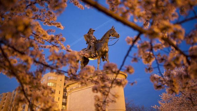 Estatua del General Winfield Scott