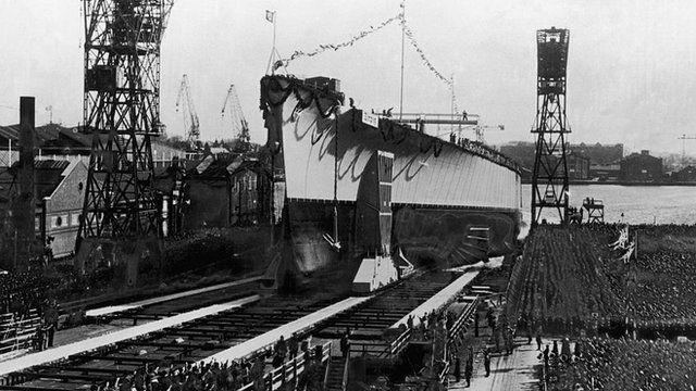 The Tirpitz was named after World War One German naval Commander Admiral Alfred von Tirpitz