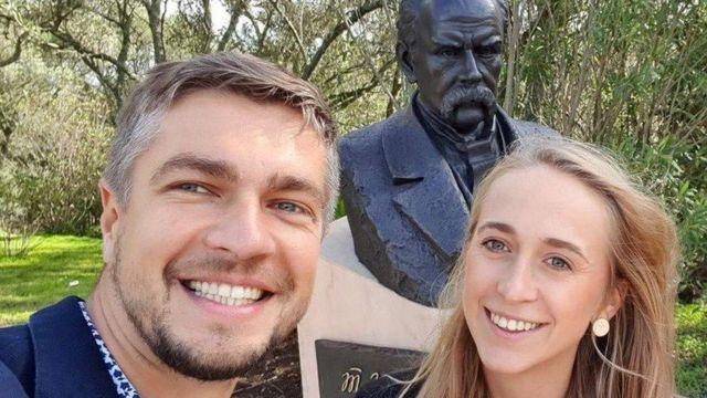 Богдан Левченко і Олена Бакало