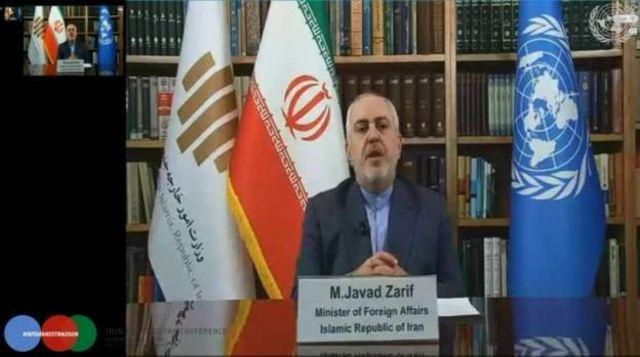 محمد جواد ظریف، وزیر امور خارجه ایران پایان نیافتن جنگ در افغانستان را تراژدی خواند