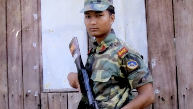 nepal child soldier
