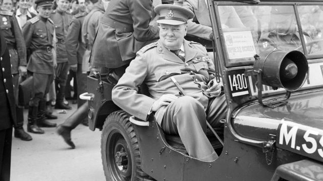 Churchill in Berlin