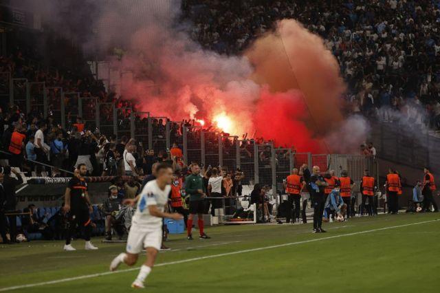 Galatasaray - Olimpik Marsilya maçı