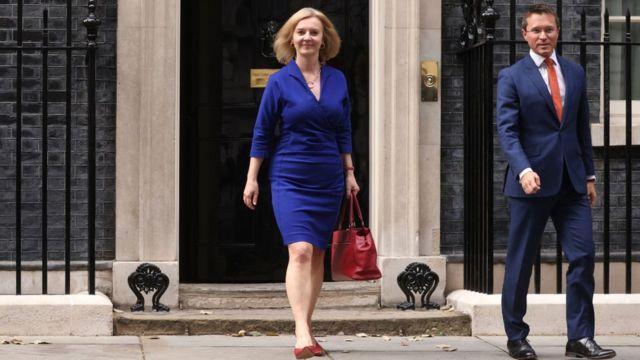لیز تراس، وزیر خارجه جدید بریتانیا
