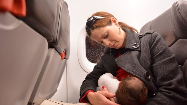KLM breastfeeding policy causes turbulence