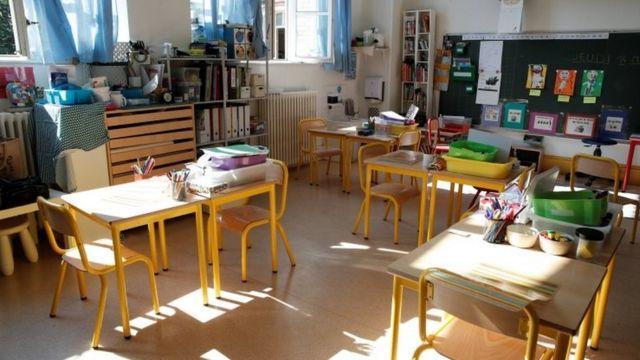 法國小學教室
