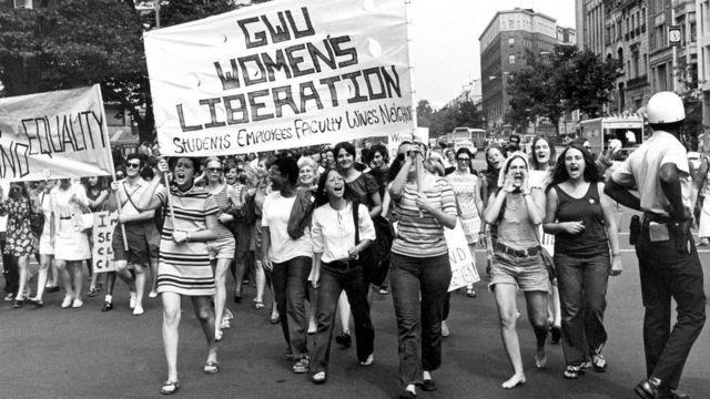 Protesto em Washington em 1970