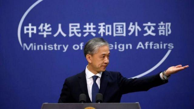 Çin Dışişleri Bakanlığı Sözcüsü Vang Venbin