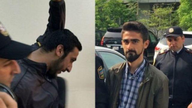 Bayram Məmmədov (solda) və Qiyas İbrahimova qarşı narkotiklə əlaqəli cinayət işi açılaraq hər ikisi 10 il azadlıqdan məhrum edildi