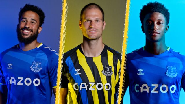 Andros Townsend, Asmir Begovic and Demarai Gray
