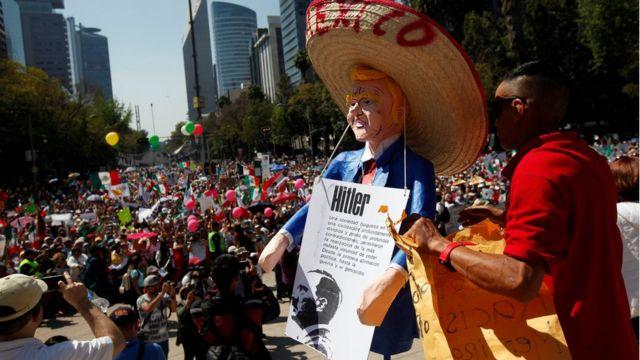 مظاهرات ضد ترامب في المكسيك