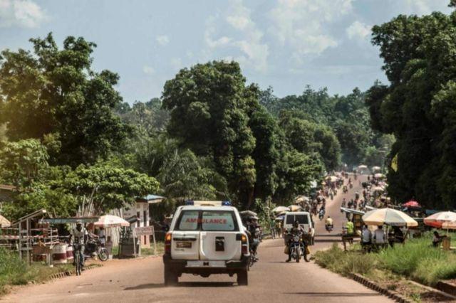 Ebola yageze mu gisagara ca Mbandaka