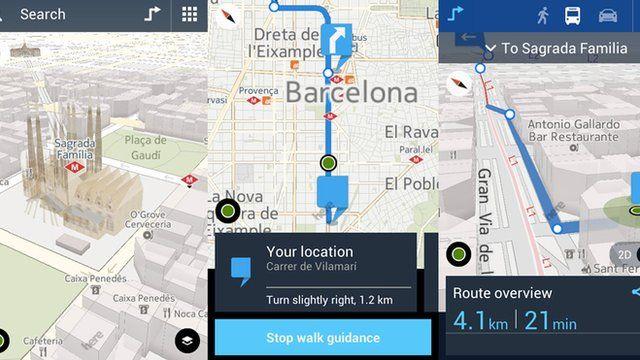 6 Apps Para Usar El Gps En Tu Celular O Tableta Sin Conectarte A Internet Bbc News Mundo