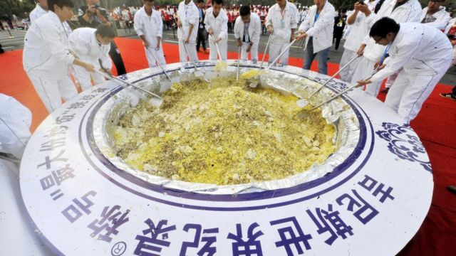 Fried rice record: Yangzhou stripped of title