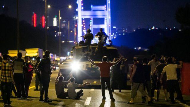Попытка переворота в Турции