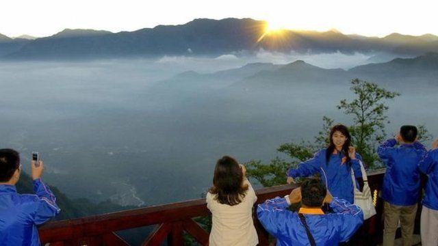 日月潭是深受中國遊客喜愛的台灣景點之一。