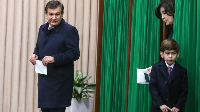 Президент Мирзиёевнинг бир ўғли ҳам бор
