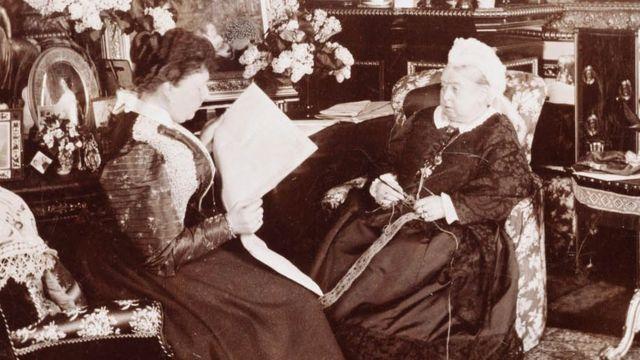 Королева Виктория и принцесса беатрис