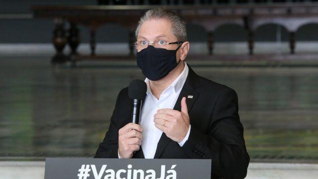O secretário de saúde Jean Gorinchteyn