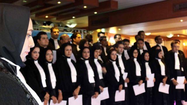 مراسم تحلیف وکلا در اصفهان