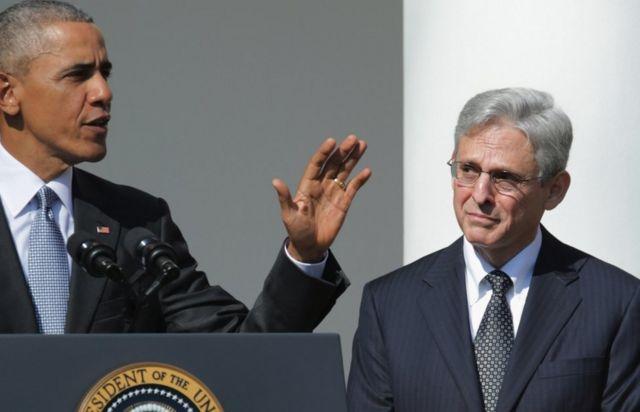 باراک اوباما آقای گارلند را در سال ۲۰۱۶ برای عضویت در دیوان عالی کشور نامزد کرد