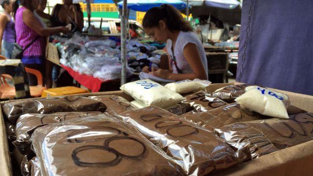 Venta de café en Caracas
