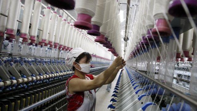 中国からは弱い景気指標の発表が相次いでいる