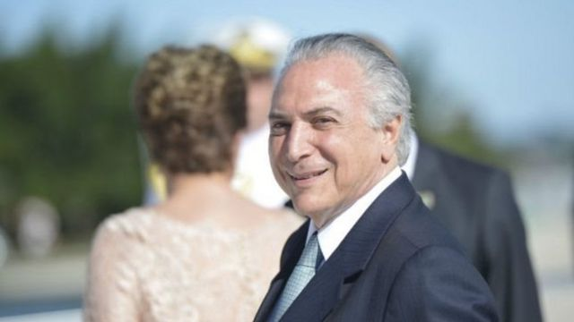 Michel Temer asumió la presidencia interina de Brasil el 12 de mayo.