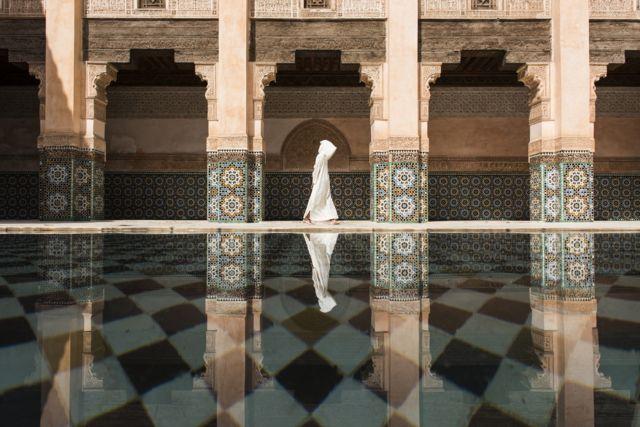 Медресе Бен Юсефа в Марракеше, Марокко