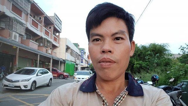 Ông Trần Trung Thực đang làm việc tại Đài Loan