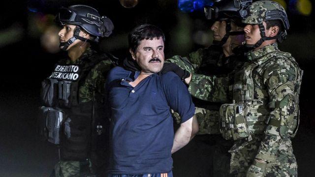 Arresto de El Chapo