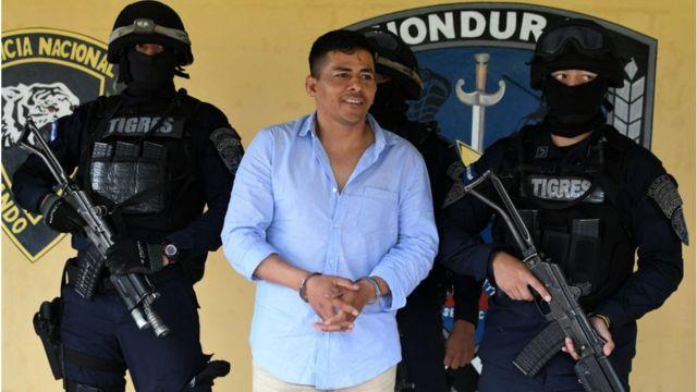 Sospechoso de narcotráfico en Honduras