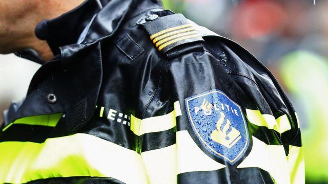 A Dutch police officer