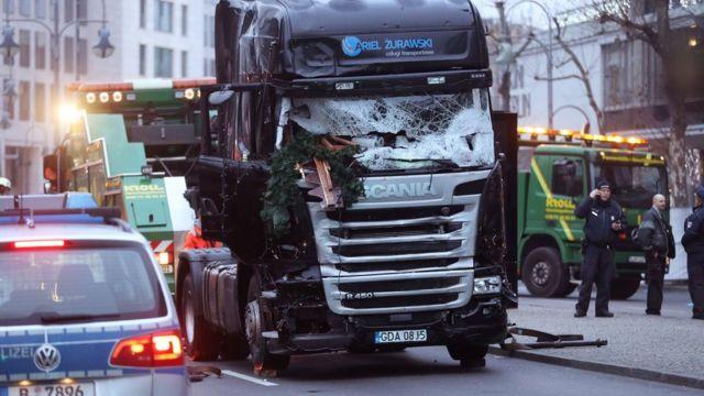 شاحنة استخدمت للهجوم في برلين