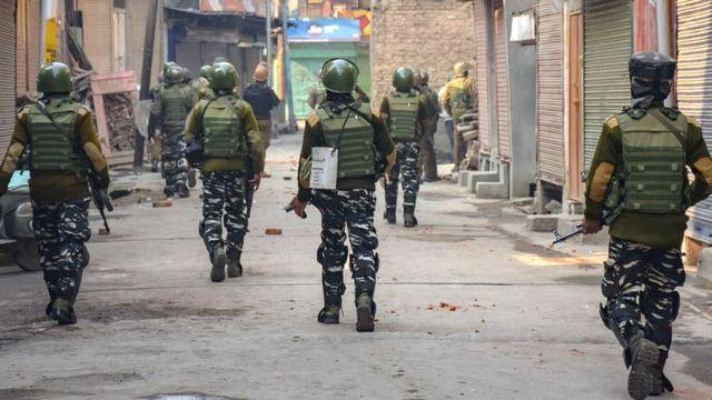 कश्मीर, 35-ए, अनुच्छेद 35-ए, सेना की तैनाती