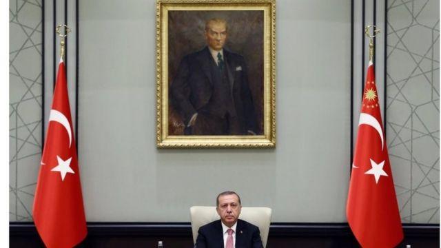 Cumhurbaşkanı Reecp Tayyip Erdoğan
