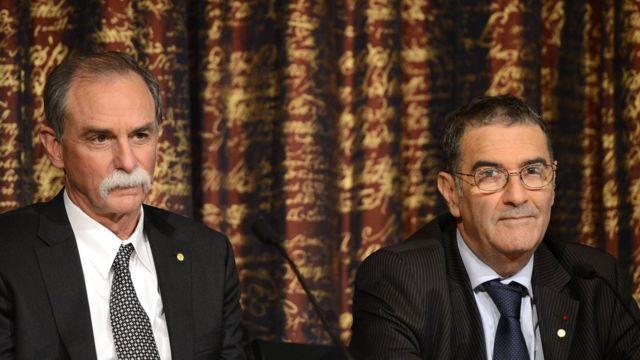David Wineland y Serge Haroche