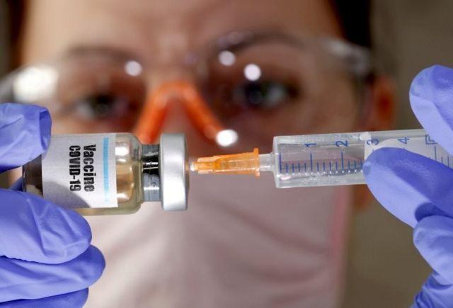Denenen bir Covid-19 aşısı