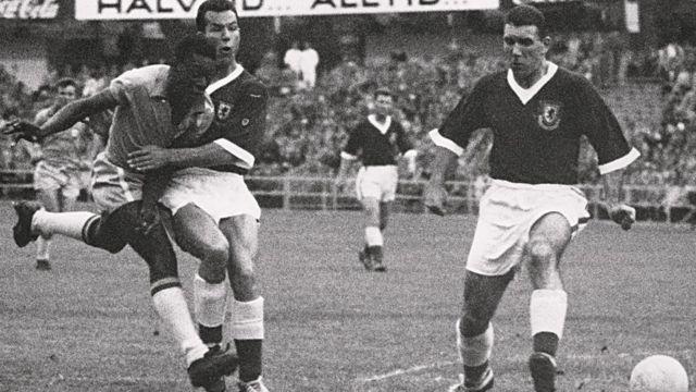 Бразилия- Уэльс, 1958