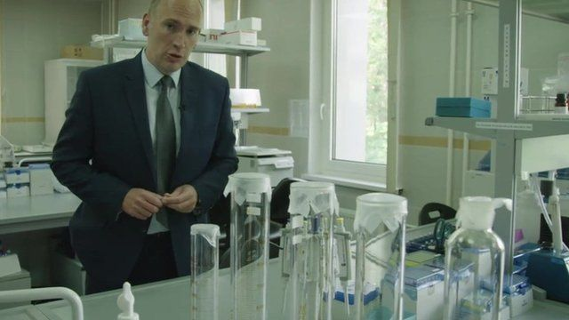 Dan Roan reports from the discredited Moscow anti-doping laboratory