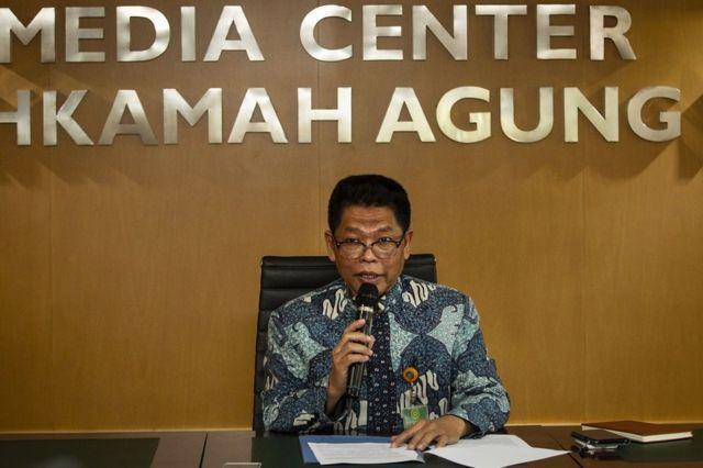 Kepala Biro Hukum dan Humas Mahkamah Agung (MA) Abdullah