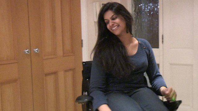 Asa Marshal, a 27-year-old British Pakistani model and charity campaigner