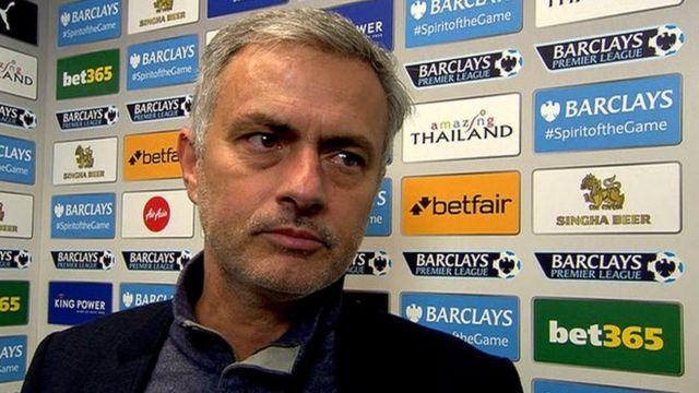 Meneja wa Man United Jose Mourinho