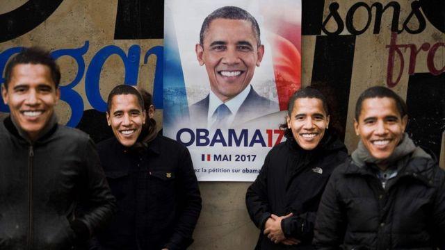 طرفداران اوباما در فرانسه