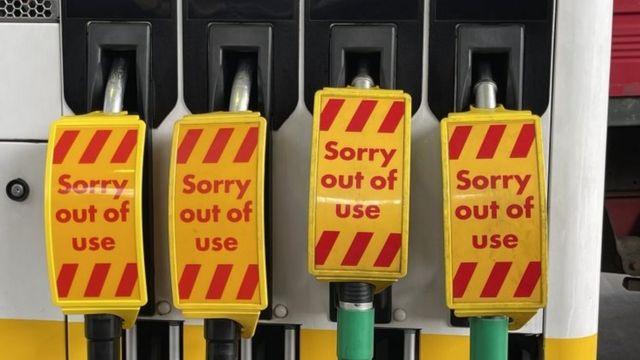 پمپ های بدون سوخت در شهر لندن